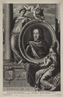 King William III, by Cornelis Martinus Vermeulen, after  Adriaen van der Werff - NPG D31055