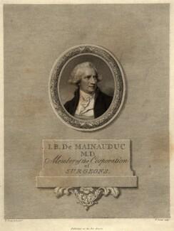 John Boniot De Mainauduc (Demainauduc), by Pierre Condé, after  Richard Cosway - NPG D9243