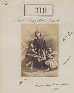 'Lord Compton's family', by Camille Silvy - NPG Ax50093