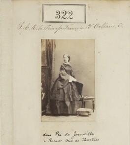 Princess Françoise Marie Amélie d'Orléans, Duchess of Chartres, by Camille Silvy - NPG Ax50096