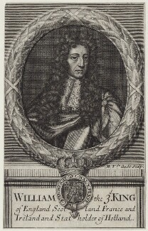 King William III, by Michael Vandergucht - NPG D31062