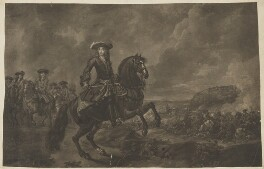 King William III, by John Faber Jr, after  Jan van Wyck - NPG D31065