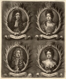 The Royal Family, by Bernard Lens (II) - NPG D9250