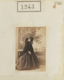 Eliza Price Noble (née Campbell), Lady Otway (later Mrs Leathem), by Camille Silvy, 1860 - NPG Ax50675 - © National Portrait Gallery, London