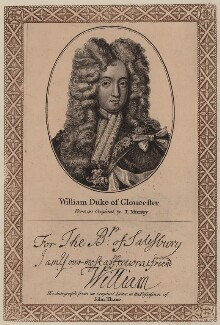 William, Duke of Gloucester, after Thomas Murray, published by  John Thane - NPG D31084