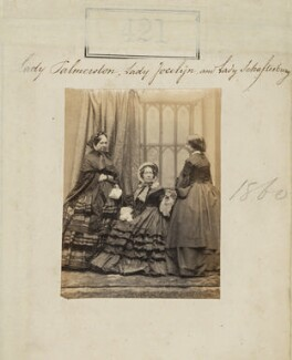 'Lady Palmerston, Lady Jocelyn and Lady Shaftesbury', by Camille Silvy - NPG Ax50168