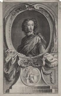 William, Duke of Gloucester, by Jacobus Houbraken, after  Sir Godfrey Kneller, Bt, published by  John & Paul Knapton - NPG D31085