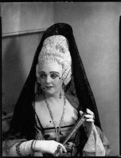 Evelyn Gardiner (née Enid Griffin) as Duchess of Plaza-Toro in 'The Gondoliers', by Bassano Ltd - NPG x153413