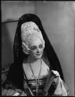 Evelyn Gardiner (née Enid Griffin) as Duchess of Plaza-Toro in 'The Gondoliers', by Bassano Ltd - NPG x153415