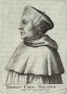 Thomas Wolsey, after Unknown artist, 17th century - NPG D33082 - © National Portrait Gallery, London