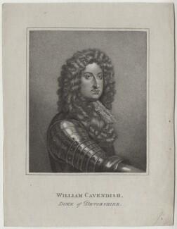 William Cavendish, 1st Duke of Devonshire, after Unknown artist - NPG D31102