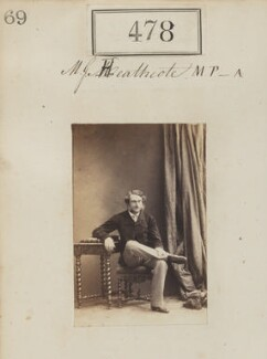 Gilbert Henry Heathcote-Drummond-Willoughby, 1st Earl of Ancaster, by Camille Silvy, 1860 - NPG Ax50195 - © National Portrait Gallery, London