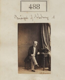 George William Frederick Brudenell-Bruce, 2nd Marquess of Ailesbury, by Camille Silvy - NPG Ax50203
