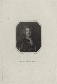 Charles Sackville, 6th Earl of Dorset, by Edward Scriven, after  Sir Godfrey Kneller, Bt - NPG D31105