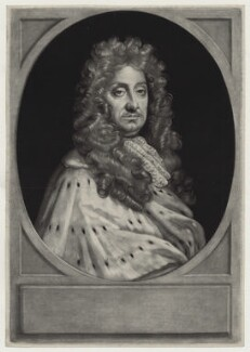 John Hay, 1st Marquess of Tweeddale, by John Smith, after  Sir Godfrey Kneller, Bt, 1690 - NPG D31107 - © National Portrait Gallery, London