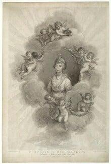 Charlotte of Mecklenburg-Strelitz, by Francesco Bartolozzi, published by  Robert John Thornton, after  Sir William Beechey - NPG D33078