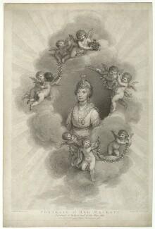 Sophia Charlotte of Mecklenburg-Strelitz, by Francesco Bartolozzi, published by  Robert John Thornton, after  Sir William Beechey - NPG D33078