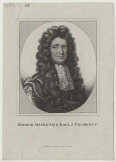 George Mackenzie, 1st Earl of Cromarty, published by John Scott - NPG D31113