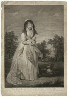 Charlotte of Mecklenburg-Strelitz, by Thomas Ryder, by  Thomas Ryder Jr, published by  John Boydell, published by  Josiah Boydell, after  Sir William Beechey - NPG D33080