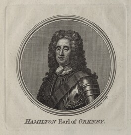 George Hamilton, 1st Earl of Orkney, by Guillaume Philippe Benoist, after  Martin Maingaud - NPG D31116