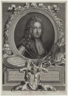 Patrick Sarsfield, 1st Earl of Lucan, by Angélique Tilliard (née Bregeon), probably after  Anne, Lady Bingham (née Vesey) - NPG D31118