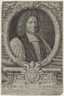 John Tillotson, by Robert White, after  Mary Beale - NPG D31122