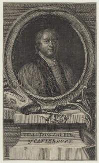 John Tillotson, after Sir Godfrey Kneller, Bt - NPG D31125