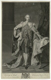 King George III, by and published by William Wynne Ryland, after  Allan Ramsay - NPG D33149
