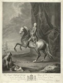 King George III, by Bernard Baron, after  Josef Anton Adolph - NPG D33150