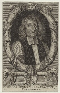 Thomas Tenison, after Robert White - NPG D31128