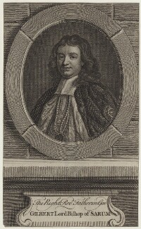 Gilbert Burnet, after John Riley - NPG D31133