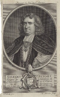 Gilbert Burnet, by Jacobus Houbraken, after  Sarah Hoadly - NPG D31134