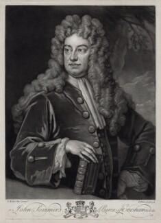 John Somers, Baron Somers, by John Faber Jr, after  Sir Godfrey Kneller, Bt - NPG D33118