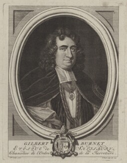 Gilbert Burnet, by Bernard Picart (Picard), after  Sarah Hoadly - NPG D31135