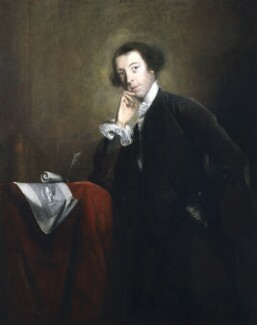 Horace Walpole, by Sir Joshua Reynolds, circa 1756-1757 -NPG 6520 - © National Portrait Gallery, London