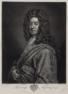 George Stepney, by John Faber Jr, after  Sir Godfrey Kneller, Bt - NPG D33127