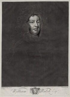 William Walsh, by John Faber Jr, after  Sir Godfrey Kneller, Bt - NPG D33131