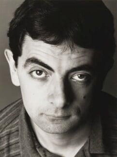 Rowan Atkinson, by Trevor Leighton - NPG x35747