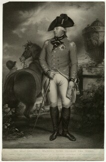 King George III, by Benjamin Smith, published by  John Boydell, and published by  Josiah Boydell, after  Sir William Beechey - NPG D33154