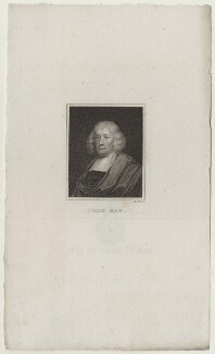 John Ray, by John Roffe, after  Unknown artist - NPG D31154