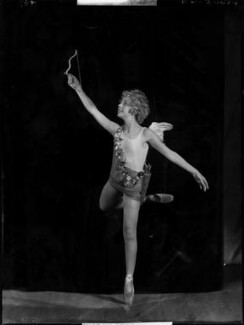 Helen ('Bunty') Kelley (later Bernstein) as Cupid in 'Queen of Hearts', by Bassano Ltd - NPG x153490