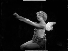 Helen ('Bunty') Kelley (later Bernstein) as Cupid in 'Queen of Hearts', by Bassano Ltd - NPG x153491
