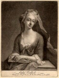 Catherine Walpole (née Shorter), Lady Walpole, after Michael Dahl - NPG D9263