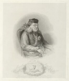King George III, published by Robert Cribb & Son, published by  Robert Cooper, after  Unknown artist - NPG D33160