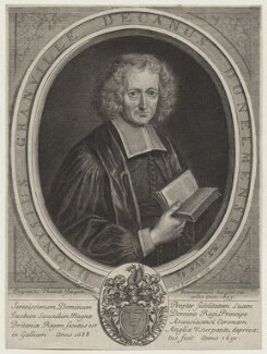 Denis Granville (né Grenville), by Gérard Edelinck, after  Jean Baptiste Beaupoil - NPG D31167
