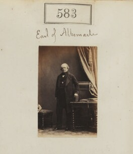 George Thomas Keppel, 6th Earl of Albemarle, by Camille Silvy - NPG Ax50264