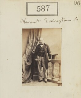 George Byng, 7th Viscount Torrington, by Camille Silvy, 1860 - NPG Ax50268 - © National Portrait Gallery, London