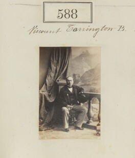 George Byng, 7th Viscount Torrington, by Camille Silvy, 1860 - NPG Ax50269 - © National Portrait Gallery, London