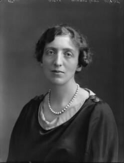 Gertrude Mary Denman (née Pearson), Lady Denman, by Bassano Ltd - NPG x33600