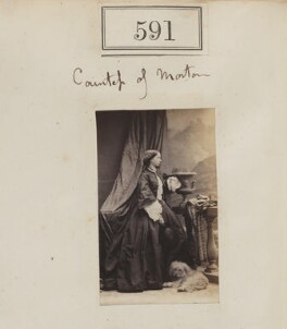 Alice Anne Caroline (née Lambton), Countess of Morton, by Camille Silvy - NPG Ax50271